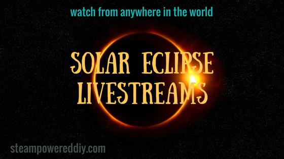 Solar Eclipse Livestreams