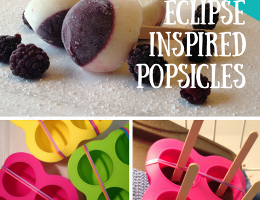 Solar Eclipse Popsicle Recipe