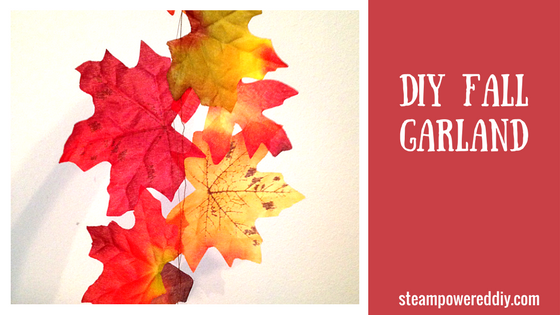 Fall Experiments and Projects | DIY Fall Garland