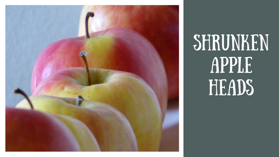 Fall Experiments and Projects | Shrunken Apple Heads